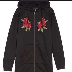 "Brunette the Label ""Brunette"" Tunic sweatshirt NWT"